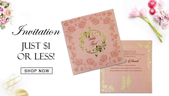 Wedding Invitations Under $1-123WeddingCards