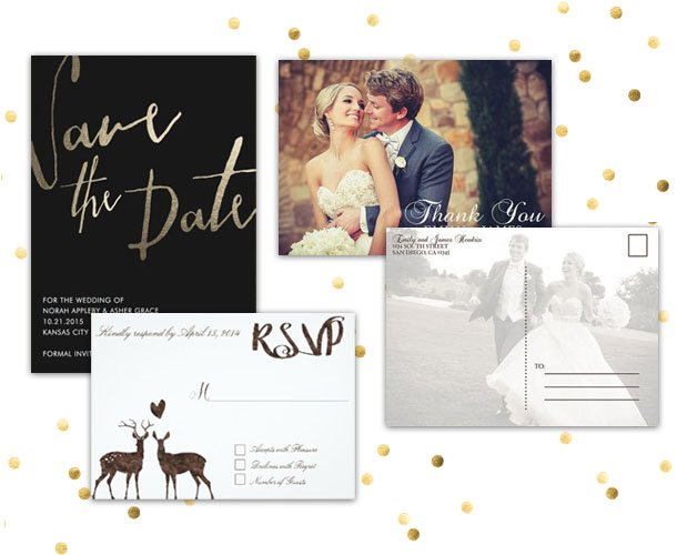 Custom Wedding Stationery-123WeddingCards