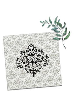 Damask Wedding Invitations-123WeddingCards