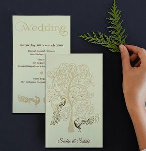 Designer Wedding Cards-123WeddingCards