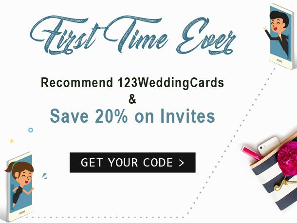 Refer and Earn-123WeddingCards