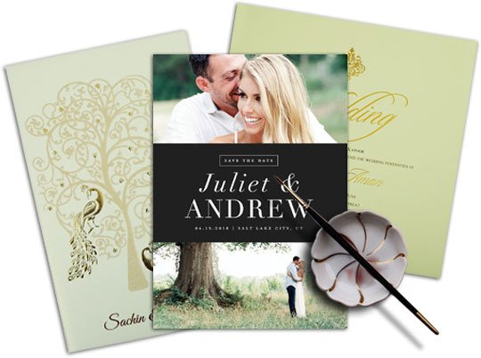 Custom Wedding Invitations Sample-123WeddingCards