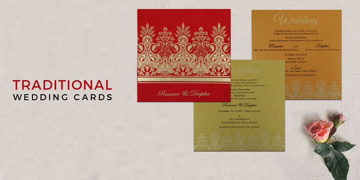 123 Wedding Invitations: Traditional Wedding Invitations