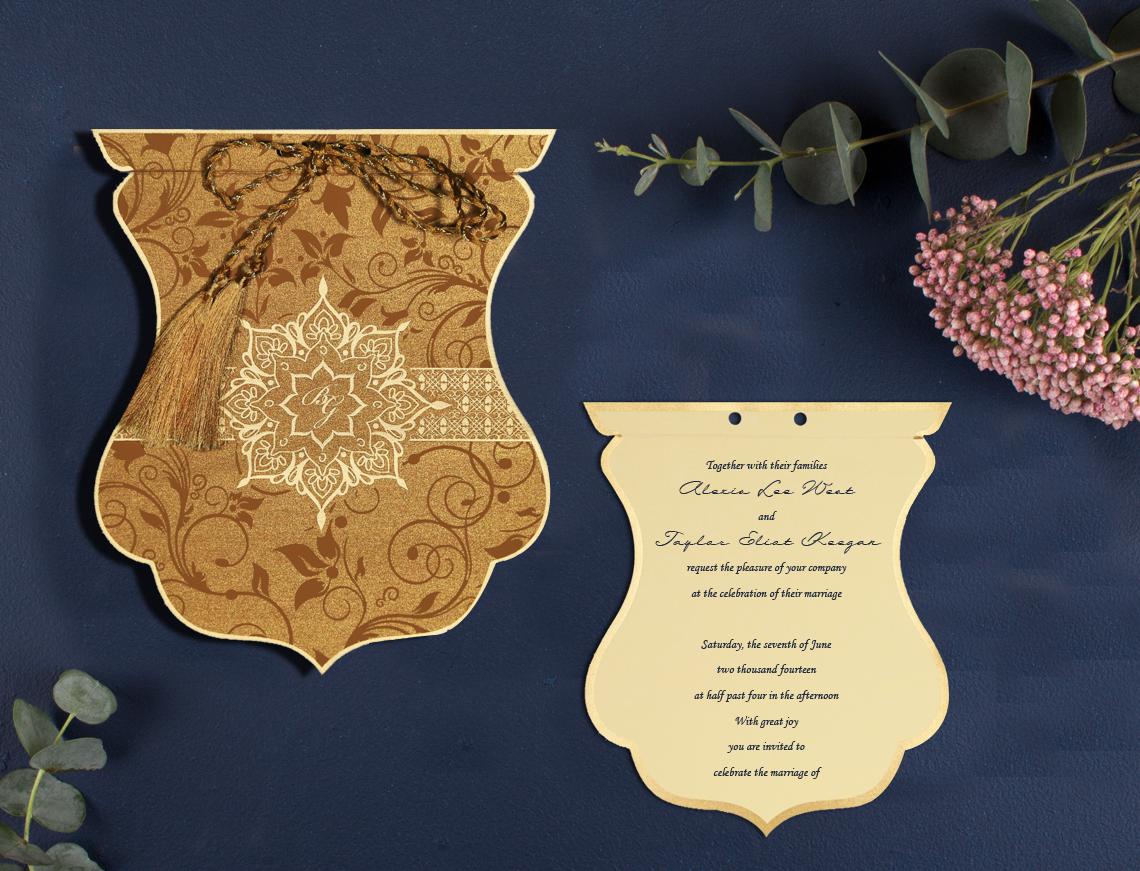 Unique Designs Wedding Invitations | Odd Shaped Invitations
