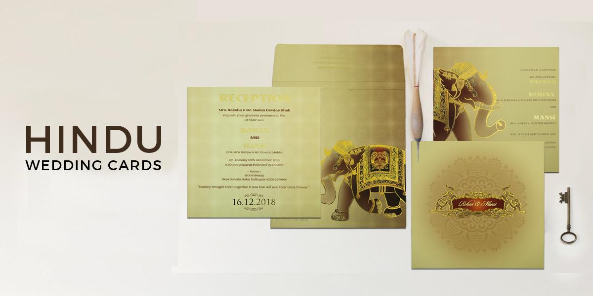 Hindu Wedding Invitations Cards Hindu Invites 123weddingcards