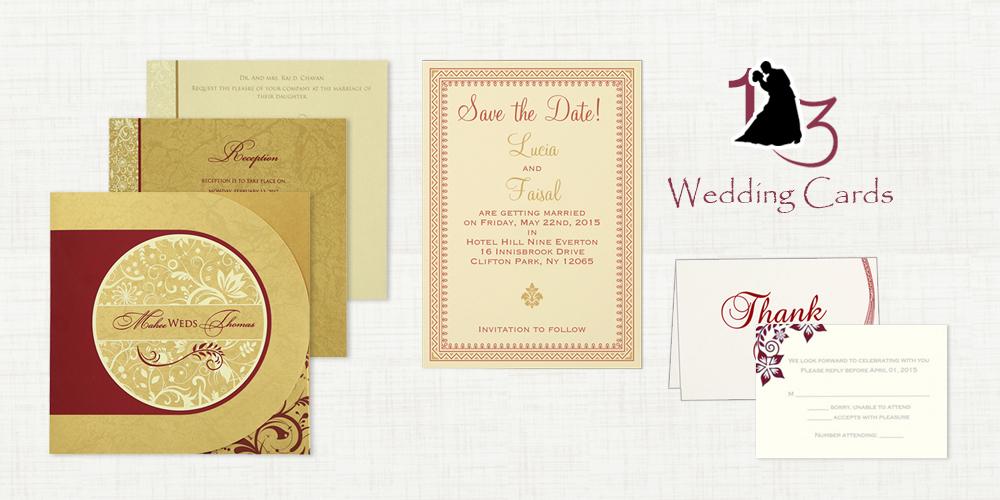 Wedding Invitation Suite by 123WeddingCards