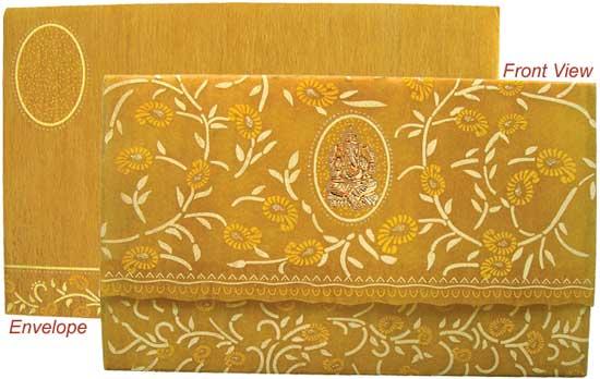 Designer Hindu wedding cards