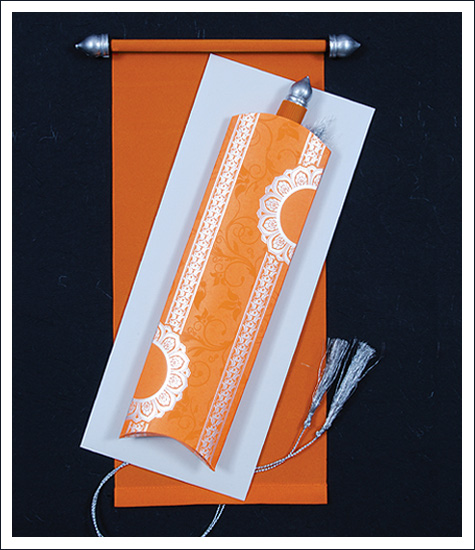 a2z scroll wedding cards, scroll wedding invitations, scroll cards