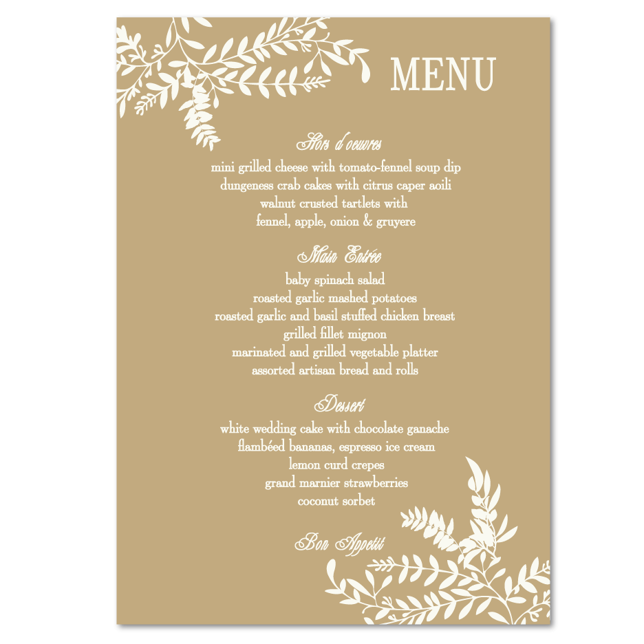 Indian Wedding Reception Food Menu: Wedding Locations
