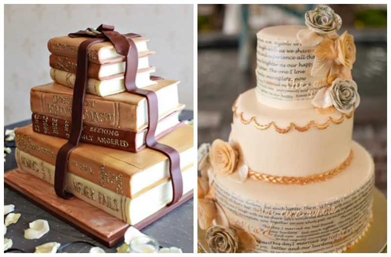 book wedding cakes library inspired wedding library inspired wedding ideas 12095