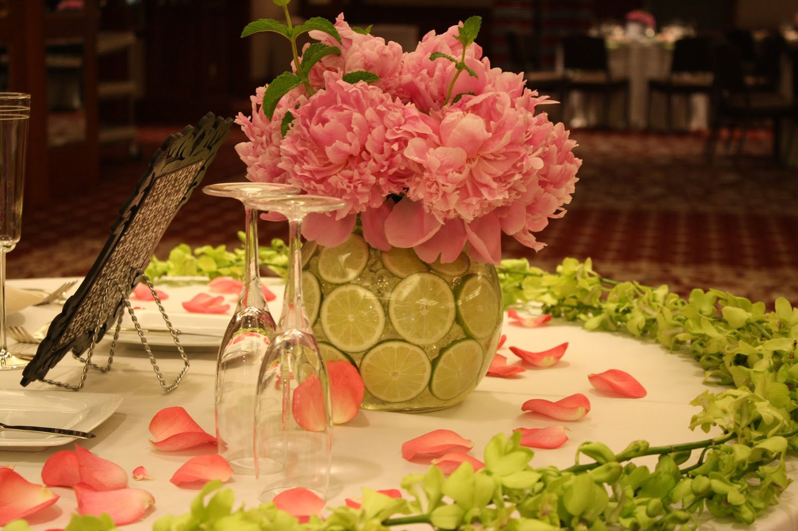 Spring Wedding Reception