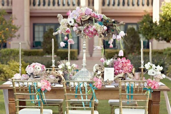 Spring Wedding Reception