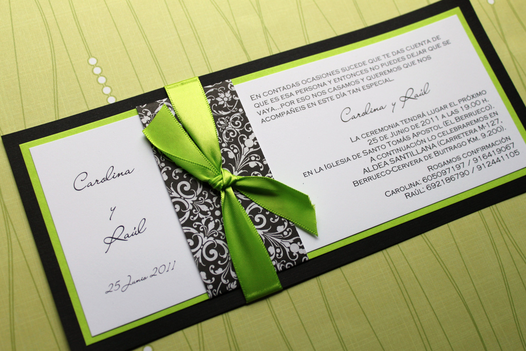 black-and-green-letterpress-invitations