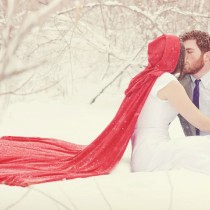 Wintry Christmas Themed Wedding-123WeddingCards