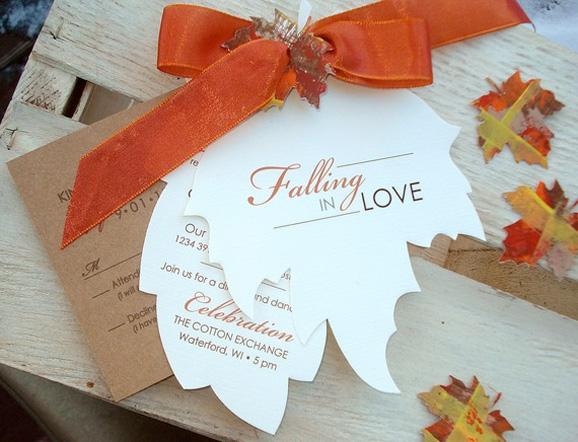 Fall season theme cards