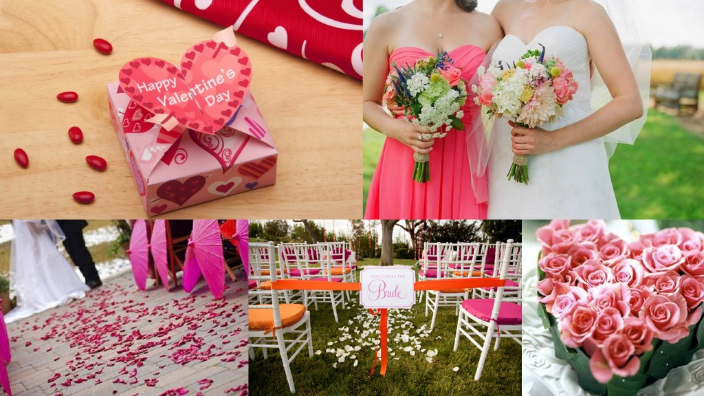 Valentine Themed Wedding