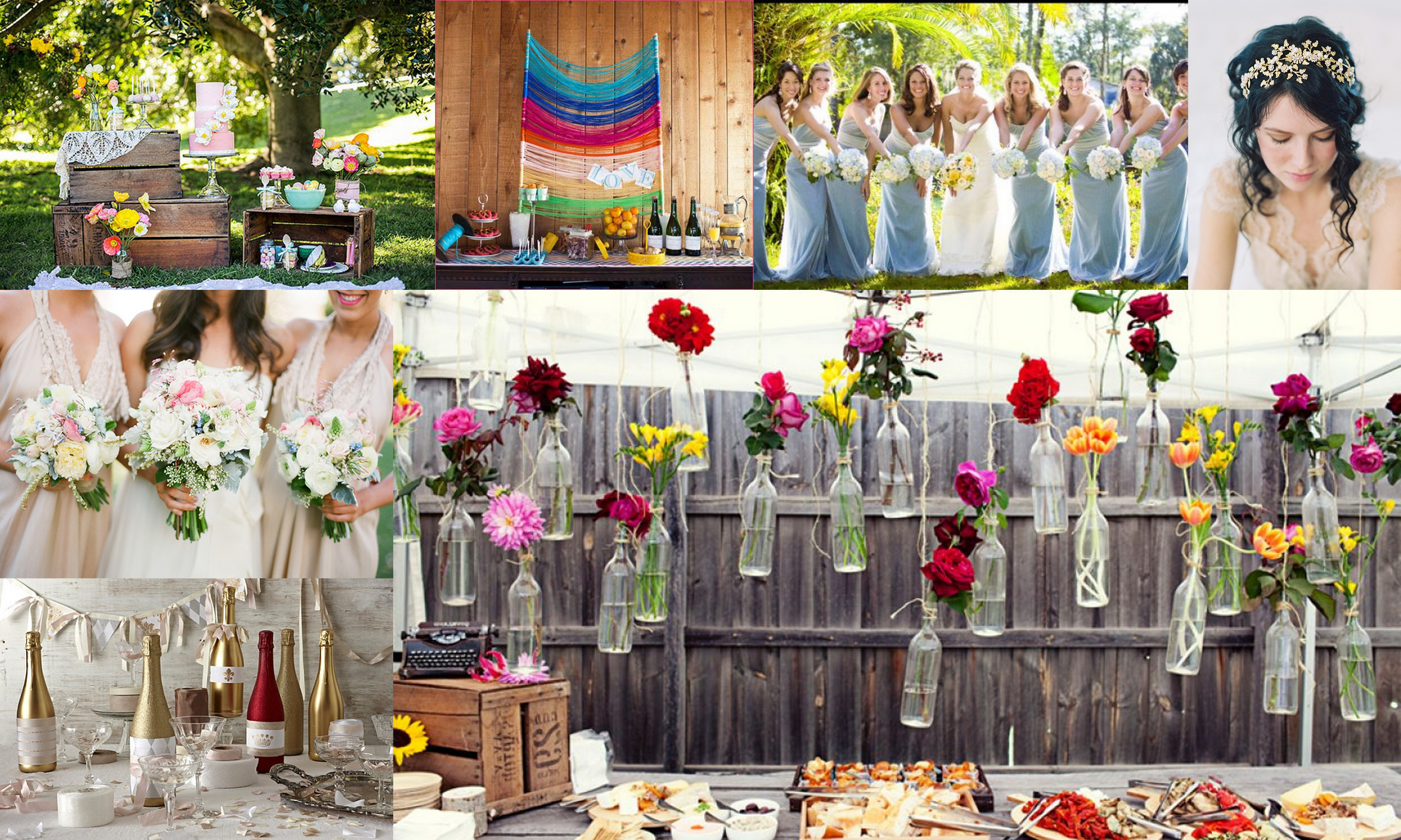 Top 5 color theme for spring wedding for What are wedding themes