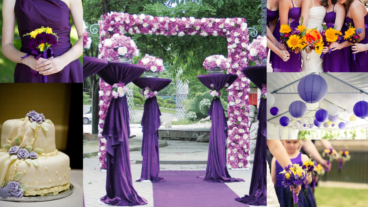 Popular wedding color ideas 2015 for Top ten wedding themes