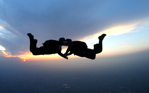skydiving Prposal Ideas by 123weddingcards