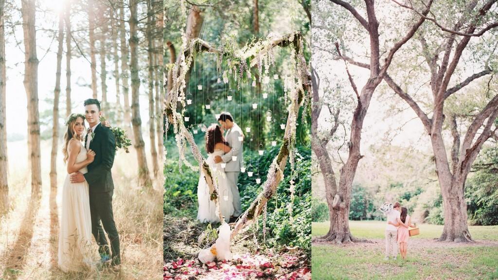 Wedding photograph location