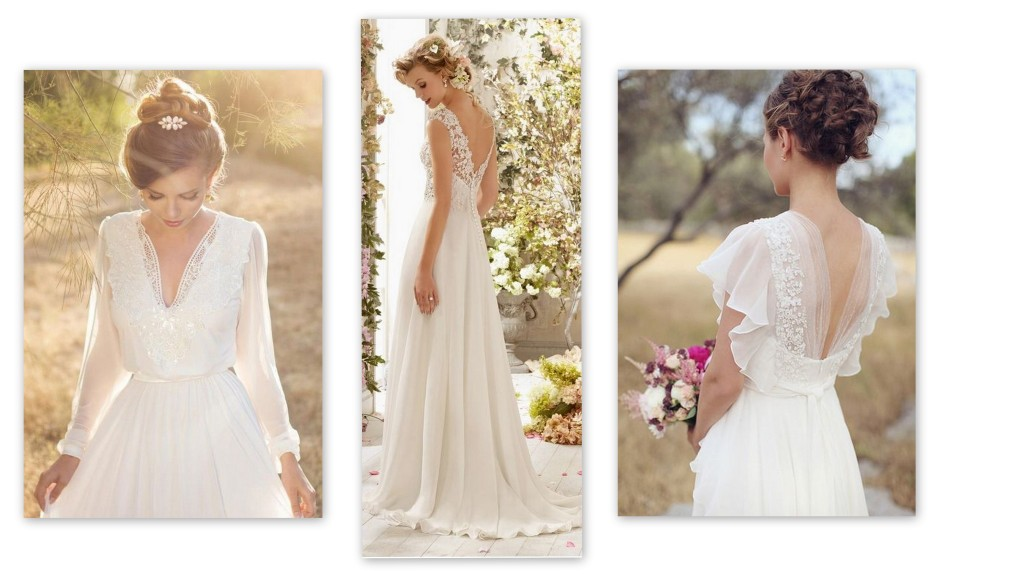 Rectangle Shape Wedding Gowns