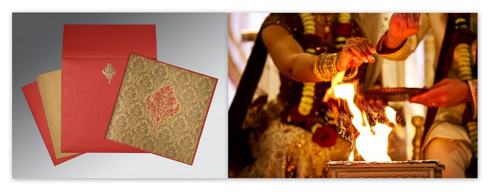 Hindu Wedding theme- 123WeddingCards