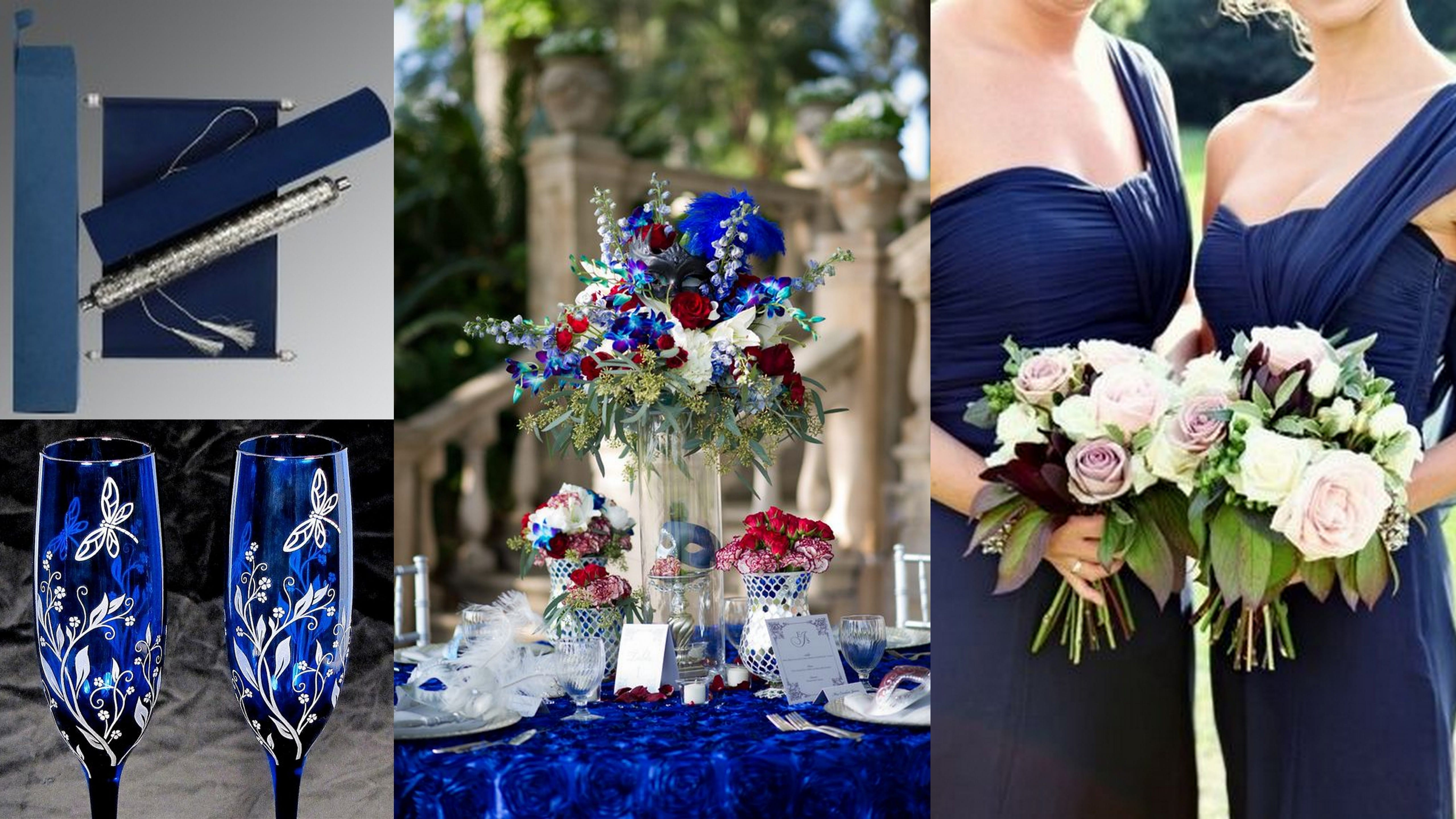 royal blue scroll wedding invitations royal wedding invitation 5 Most Creative Scroll Wedding Invitation Ideas Ever