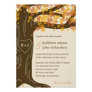 Outside Wedding Invitations -123weddingcards