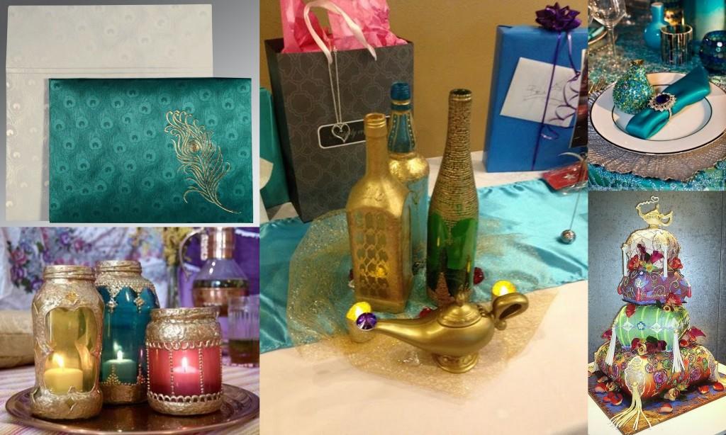 Arabian Night Wedding Theme- 123WeddingCards