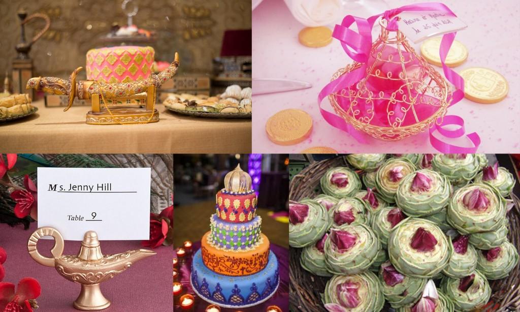 Arabian Night Wedding Theme Favors- 123WeddingCards
