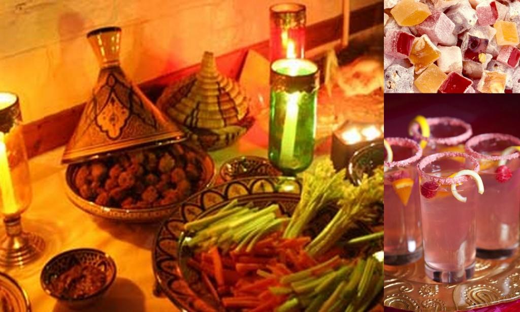 Arabian Night Wedding Theme Food- 123WeddingCards