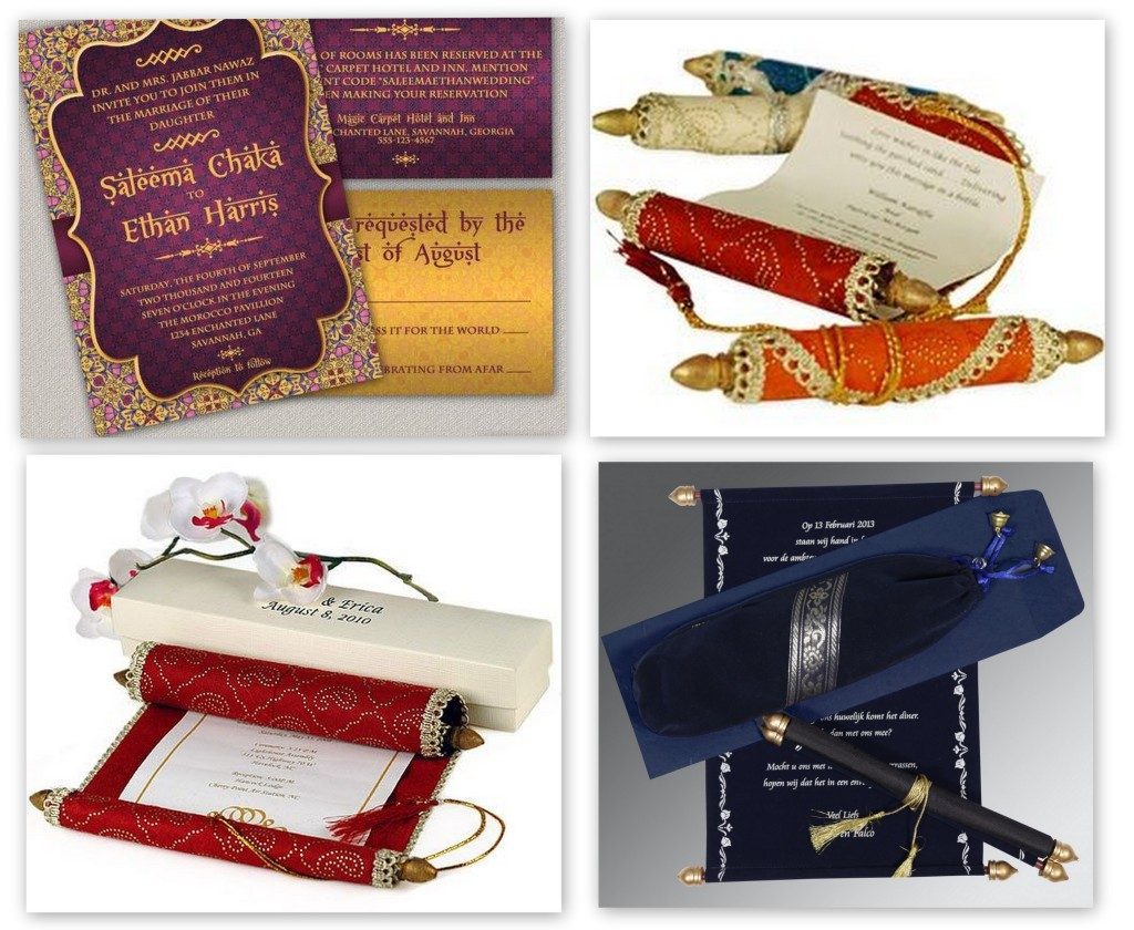 Arabian Night Wedding Theme Invitations- 123WeddingCards