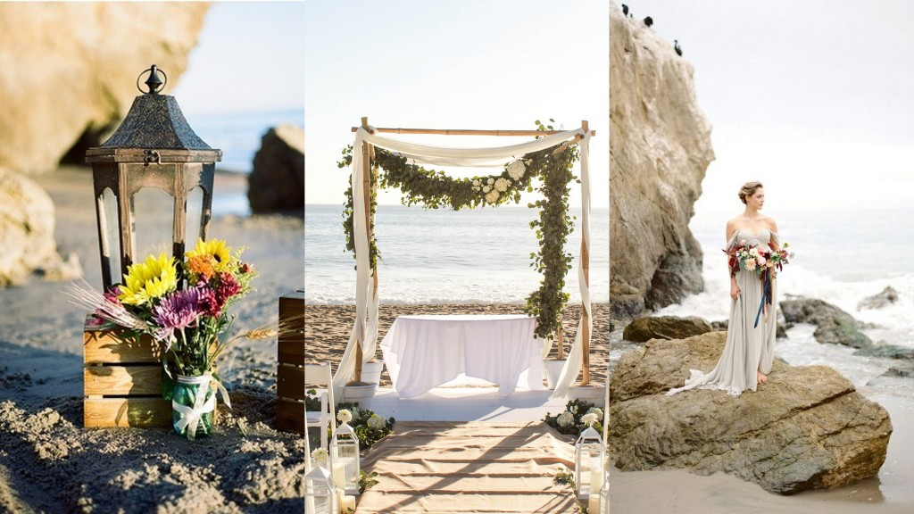 California Beach wedding- 123WeddingCards
