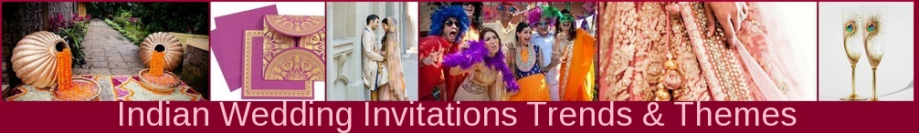 Indian Wedding Invitations trends & themes: 123WeddingCards