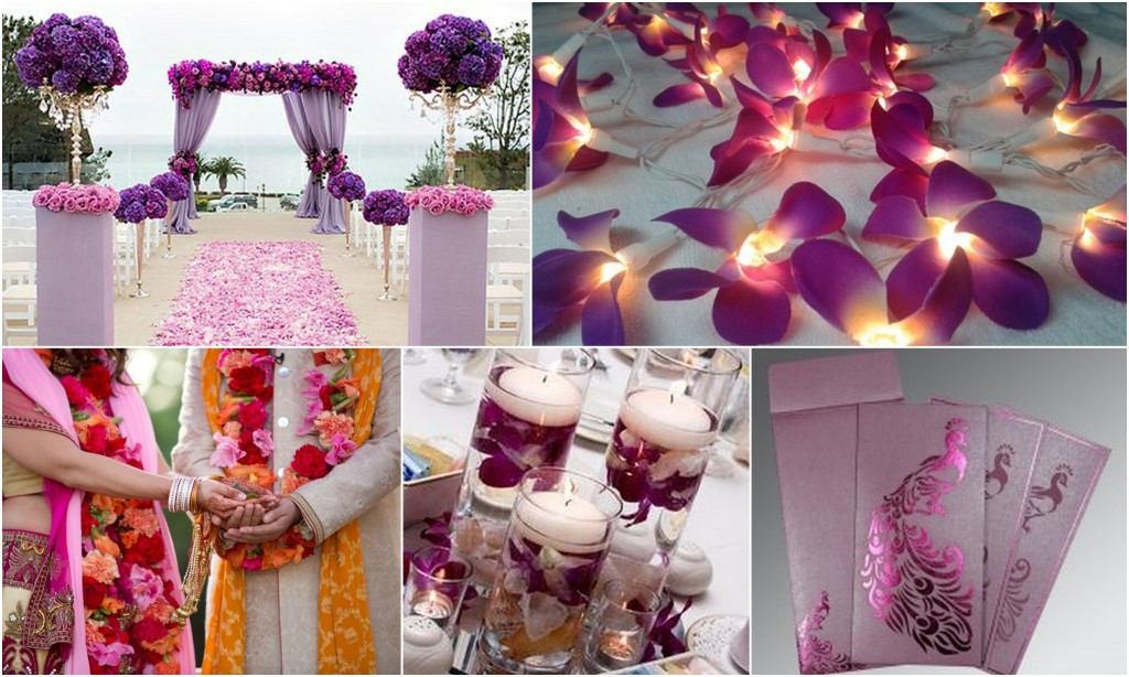 Orchid wedding theme: 123WeddingCards