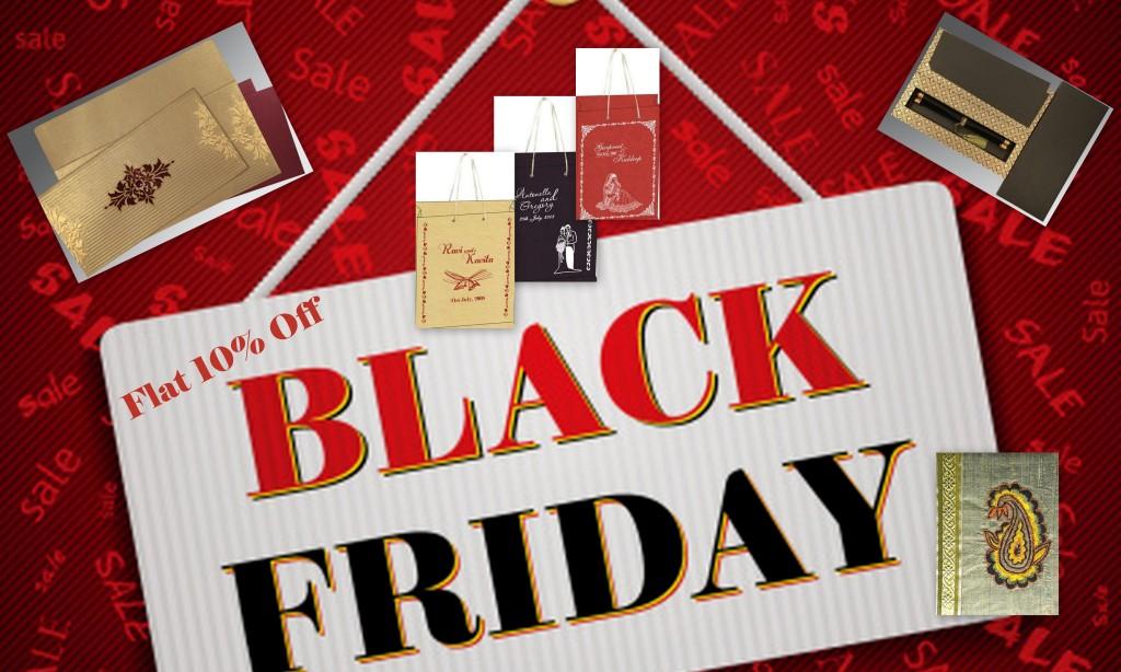 Black Friday 2015 offers - 123WeddingCards