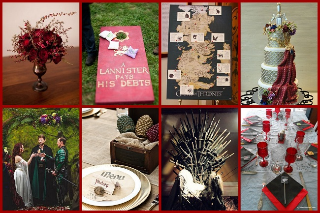 Game of Thrones wedding theme - 123WeddingCards