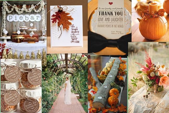Thanksgiving-Inspired Wedding theme - 123WeddingCards