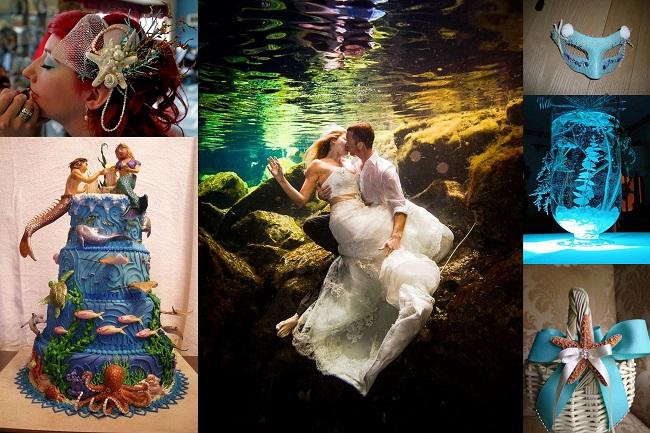 Under the sea wedding theme - 123WeddingCards