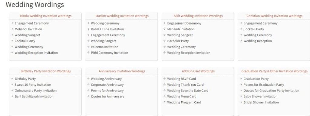 123 Wedding Invitations: Wedding Wording Samples And Ideas For Indian Wedding
