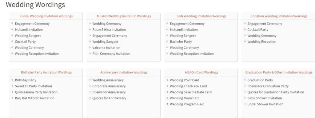 Wedding Wording Samples- 123WeddingCards