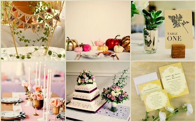 Painted Plant Rutic Wedding Ideas - 123WeddingCards