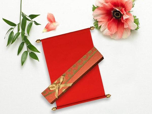 Red Velvet Wedding Invitations-123WeddingCards