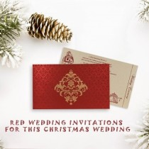 Wedding Invitations For Christmas Wedding - 123WeddingCards