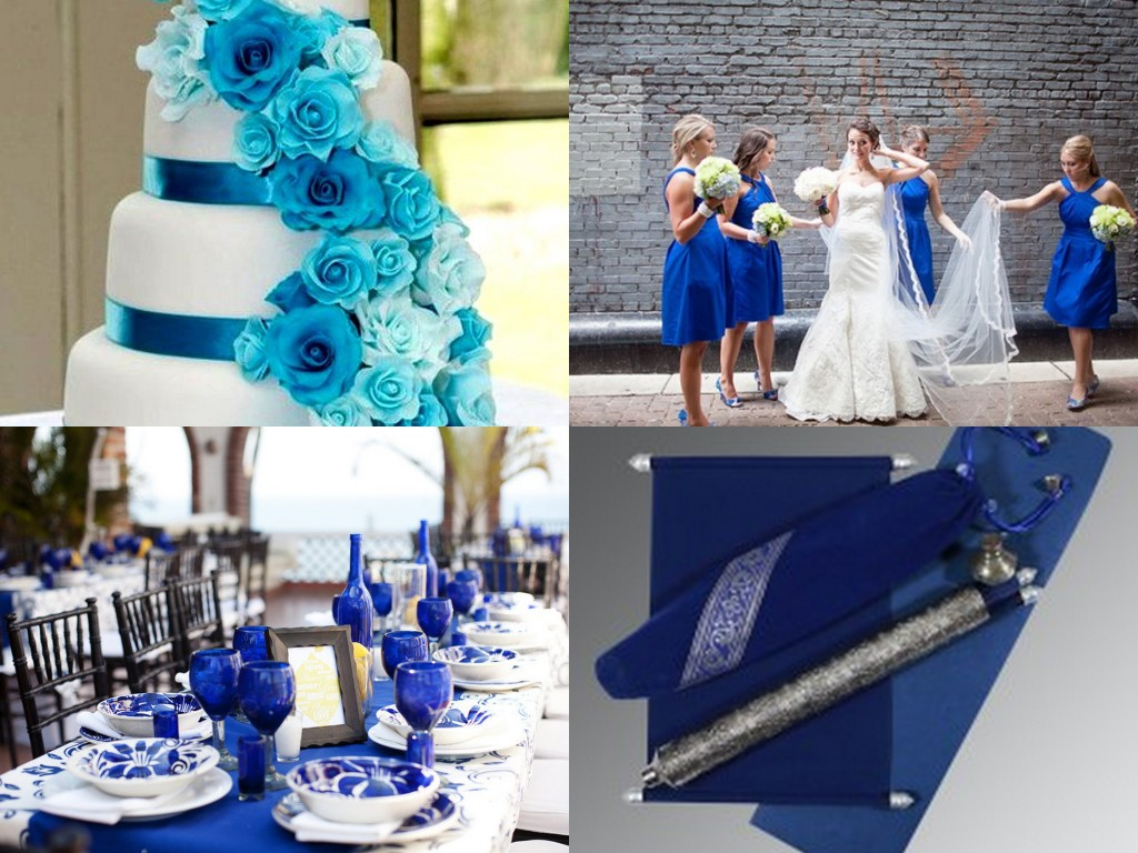 Blue Color Wedding Theme
