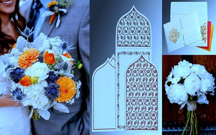 White Bridal Bouquet - 123WeddingCards