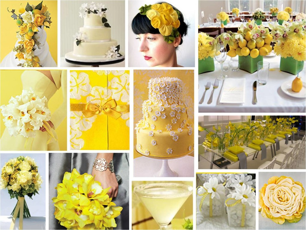 Yellow Color Wedding Theme