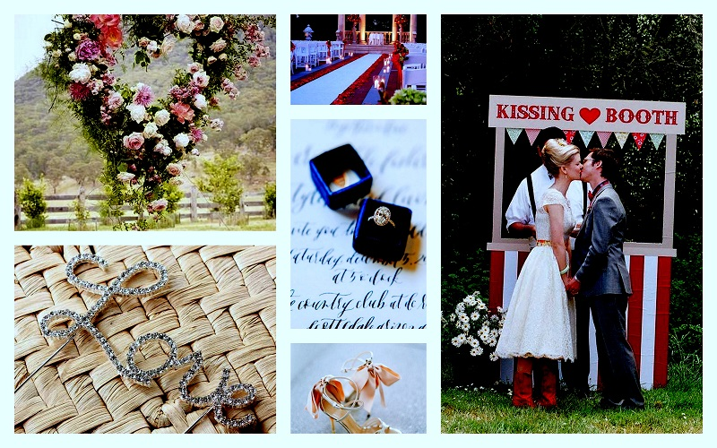 Valentine wedding decor Ideas - 123WeddingCards