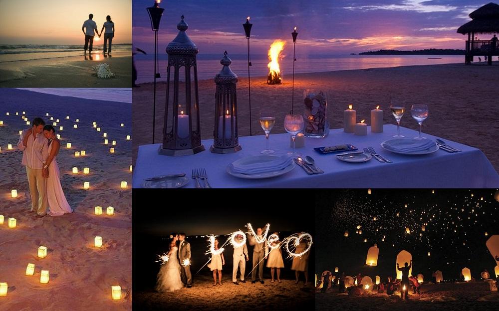Beach wedding ending- 123WeddingCards