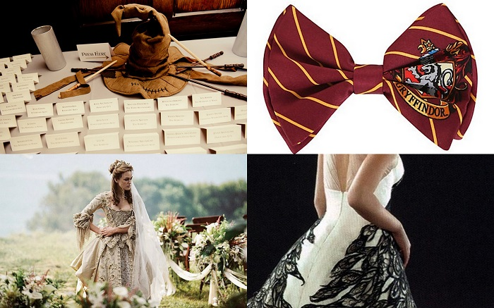 Harry potter wedding dresses  - 123WeddingCards
